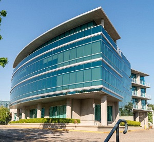 An image of the Willingdon Park business centre in Burnaby, B.C.