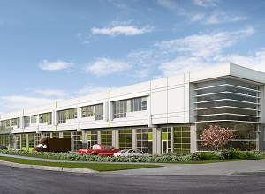 Rendering of Intraurban Brentwood, a 100,000-square foot industrial strata project in Burnaby, B.C., by PC Urban.
