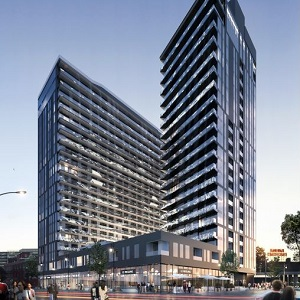 MaryRobert condos in Griffintown will be the site of a massive, 21-storey art installation.