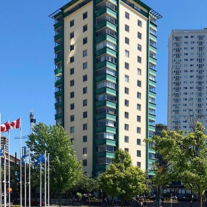 Image of Reliance Properties' Berkley at English Bay in Vancouver.