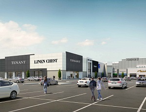 Image: Linen Chest is the first of four tenants to lease space in the former Target store at Halifax Mic Mac Mall.