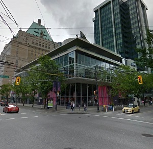 Image: Morguard's Robson Central at 969 Robson St., in Vancouver.