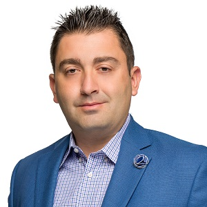 Image: Greybrook Realty Partners CEO Peter Politis.