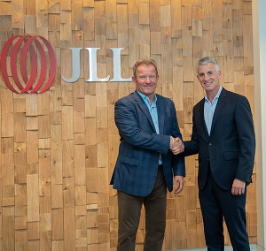 PHOTO: JLL Canada executive vice-president Tim Sanderson, left, with JLL Canada CEO Brett Miller.