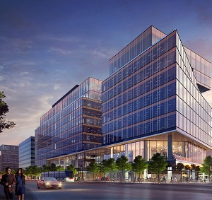 The Waterfront Innovation Centre in Toronto. (Image courtesy Menkes Developments Ltd.)