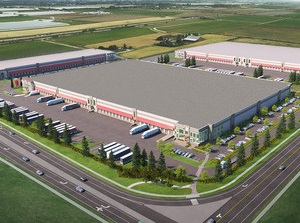 IMAGE: Amazon will occupy 450,000 sq. ft. within Delta iPort, being developed by GWL Realty Advisors on behalf of HOOPP. (GWL Realty Advisors)