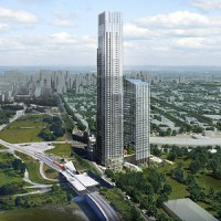 Artist's conception of the Trinity Centre at Bayview Station development in Ottawa. (Courtesy Trinity Group)