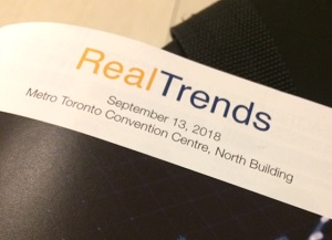 IMAGE: The RealTrends 2018 program cover.