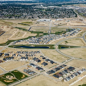 IMAGE: The Brighton neighborhood in  Saskatoon, where Dream is developing the Brighton Marketplace shopping centre. (Image courtesy Dream)