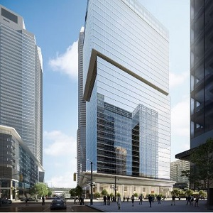 IMAGE: 16 York in Toronto, being developed by Cadillac Fairview.