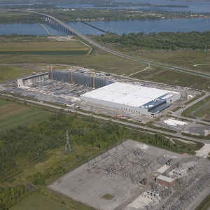 IMAGE: Broccolini is building this IKEA warehouse near Beauharnois. (Image courtesy Broccolini)