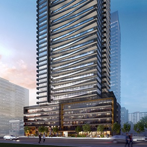 IMAGE: Line 5 Condos in Toronto is a joint venture between Reserve Properties and Westbank. (Image courtesy Reserve)
