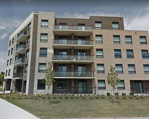 IMAGE: 171 Kortright Road West in Guelph is one of six apartment buildings acquired by Northview Apartment REIT. (Google Street View image)
