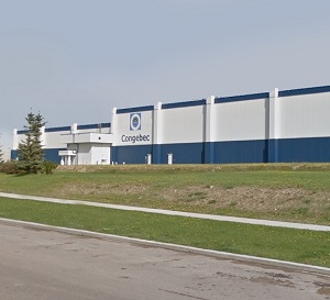 IMAGE: Congebec's 200,000-sq.-ft. facility in Calgary is one of nine properties purchased by Skyline Commercial REIT. (Image courtesy Skyline)