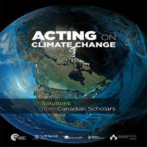 The cover of a Sustainable Canada Dialogue report on climate change