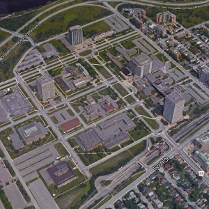 The federal government campus at Tunney's Pasture in Ottawa.
