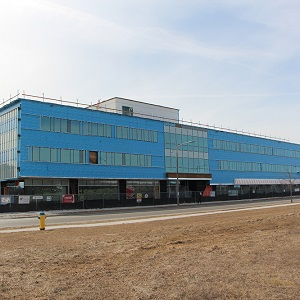 The evolv1 building in Waterloo, Ont., has received Zero Carbon Building certification from the Canada Green Building Council.